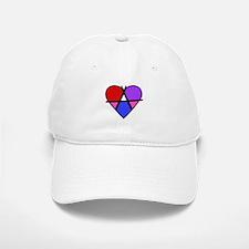 Radical Valentine Baseball Baseball Cap