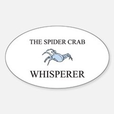 The Spider Crab Whisperer Oval Decal