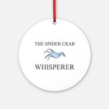 The Spider Crab Whisperer Ornament (Round)