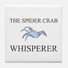 The Spider Crab Whisperer Tile Coaster