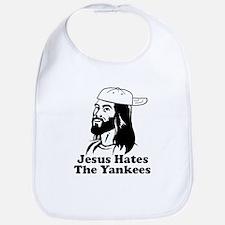 Jesus Hates The Yankees Bib