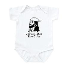 Jesus Hates The Cubs Infant Bodysuit