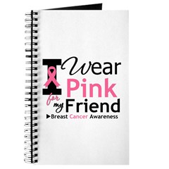 I Wear Pink Friend Journal