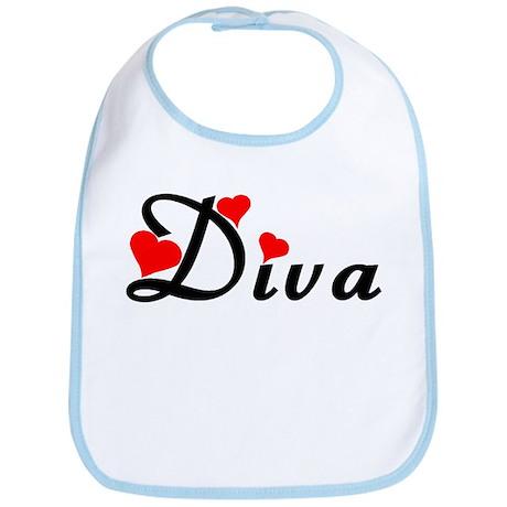 Heart Styled Diva Bib