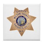 Wilson County Sheriff Tile Coaster