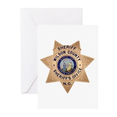 Wilson County Sheriff Greeting Cards (Pk of 20)