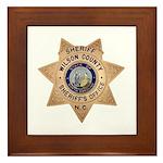 Wilson County Sheriff Framed Tile