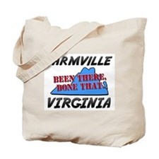 farmville virginia - been there, done that Tote Ba