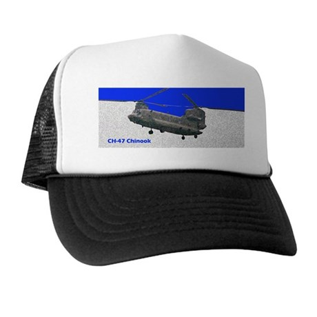 Chinook Helicopter Trucker Hat