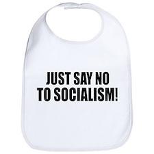 No Socialism Bib