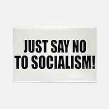 No Socialism Rectangle Magnet