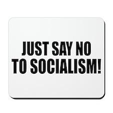 No Socialism Mousepad