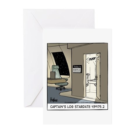 Captain's Log Greeting Cards (Pk of 20)