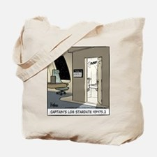 Captain's Log Tote Bag