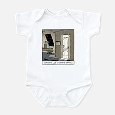 Captain's Log Infant Bodysuit