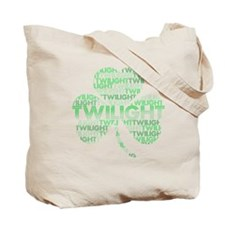 Twilight Shamrock Tote Bag