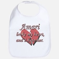 Amari broke my heart and I hate her Bib