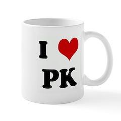 I Love PK Mug