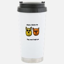 Shelter Pets Travel Mug