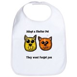 Animal causes Cotton Bibs