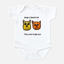 Shelter Pets Infant Bodysuit