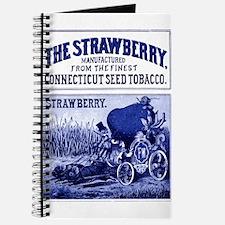 Cute Cartoon strawberry Journal