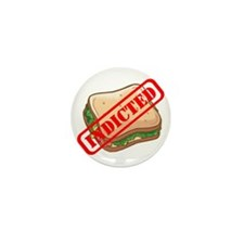 Indicted Ham Sandwich Mini Button (100 pack)