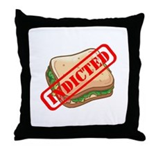 Indicted Ham Sandwich Throw Pillow