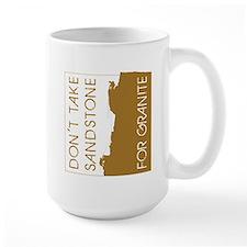 Sandstone for Granite Mug