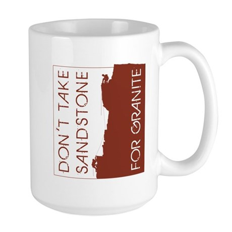 Sandstone for Granite Large Mug