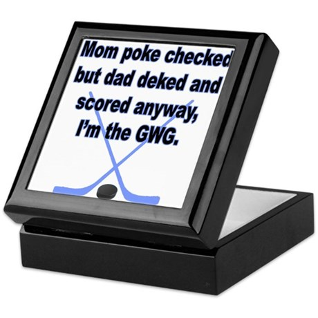 GWG Boys Keepsake Box
