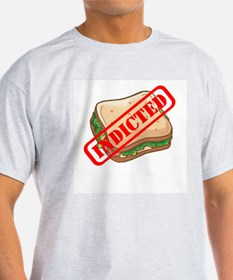 Indicted Ham Sandwich Ash Grey T-Shirt