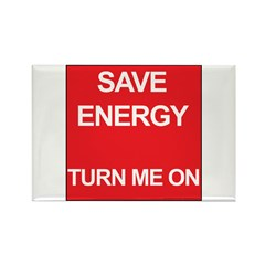 Hot to trot Rectangle Magnet (100 pack)