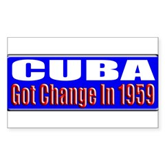 Change 1959 Rectangle Sticker 10 pk)