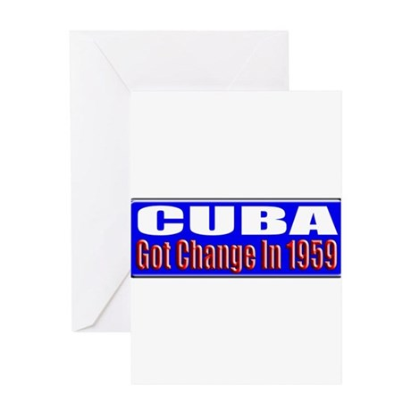 Change 1959 Greeting Card