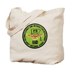 Army National Guard RAID Tote Bag