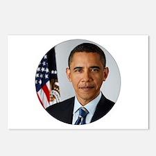 President Obama Portrait Postcards (Package of 8)