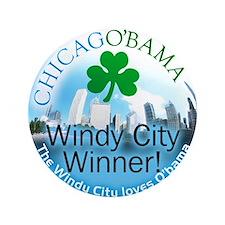 CHICAGO'BAMA button
