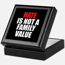 Hate is not a Family Value Keepsake Box