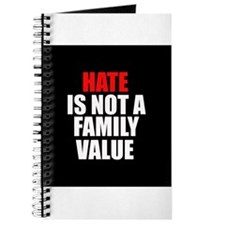 Hate is not a Family Value Journal