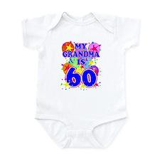 GRANDMA 60 Onesie