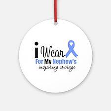 Prostate Cancer NEPHEW Ornament (Round)