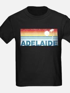 Retro Adelaide Palm Tree T-Shirt