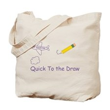 Quick To the Draw Tote Bag