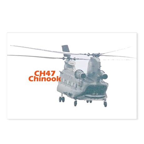 Chinook Helicopter Postcards (Package of 8)