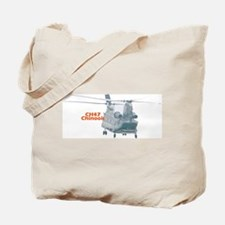 Chinook Helicopter Tote Bag