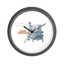 Chinook Helicopter Wall Clock
