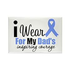 Prostate Cancer DAD Rectangle Magnet