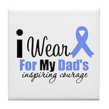 Prostate Cancer DAD Tile Coaster