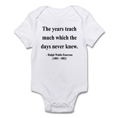 Ralph Waldo Emerson 30 Infant Bodysuit